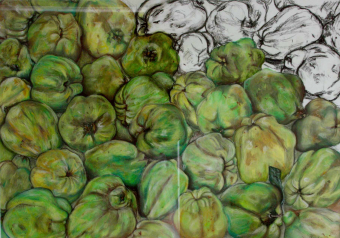 Crate of Quinces